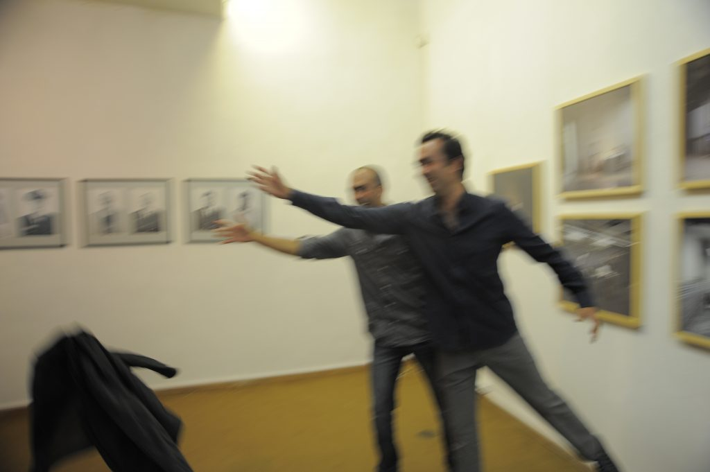 Valter VENTURA and Jose Nuno LAMAS @ opening of Duets & Duels exhibition_10_0909-Kaunas Photo 2010 DD 114