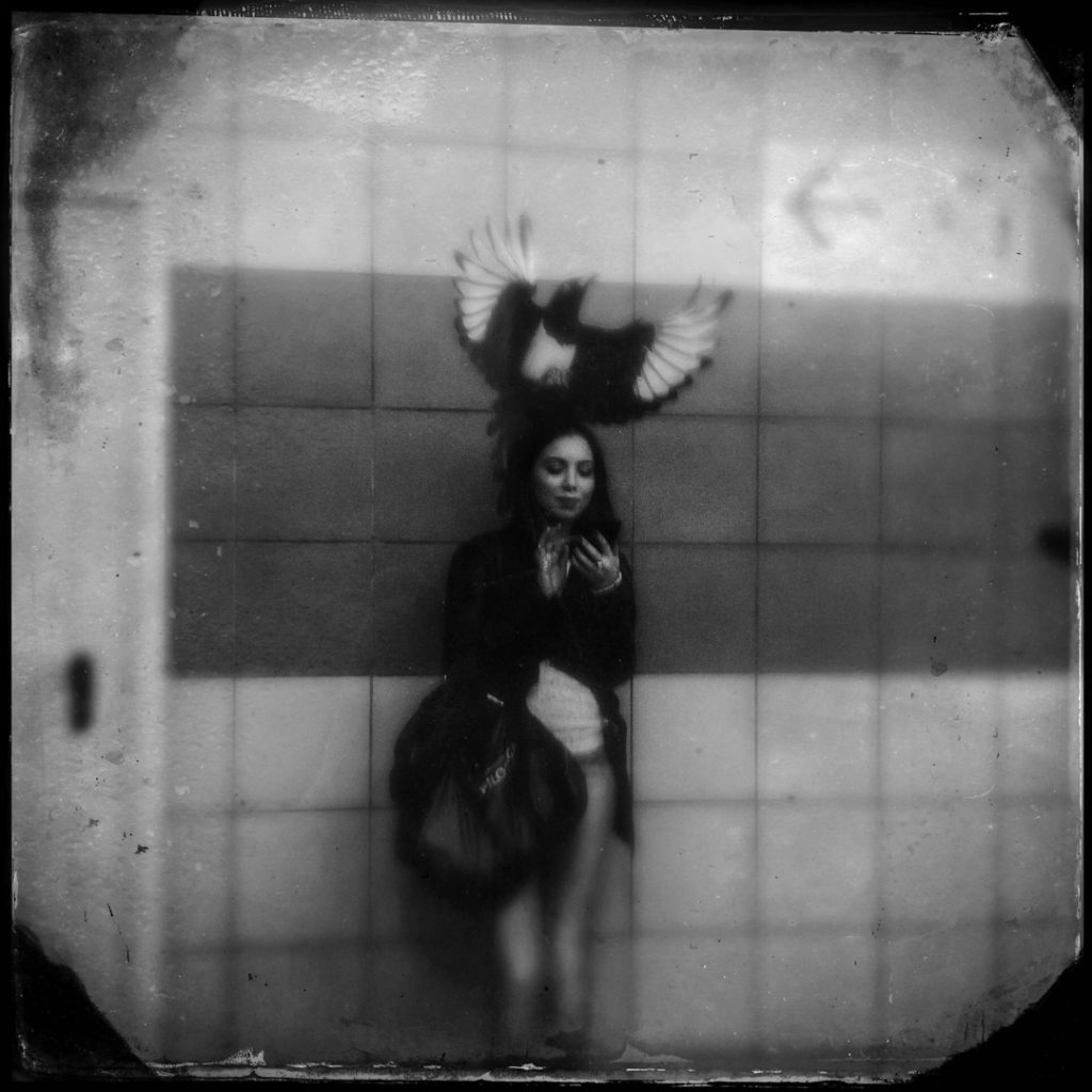 Underground people, metro, subway. Marta Rybicka